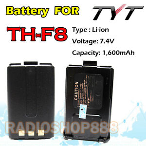 TYT-TH-F8-Original-Li-ion-1600mah-Battery