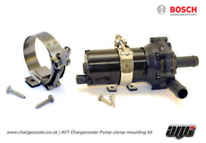 BOSCH 12V Chargecooler Water Pump EWP Clamp Mounting Kit Bracket