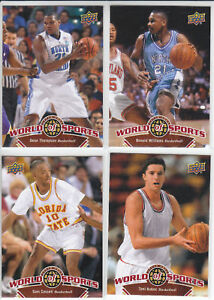2010 UD World of Sports Deon Thompson North Carolina Tar Heels #57