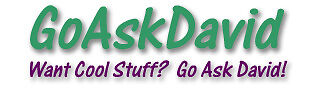 Go Ask David's eStore