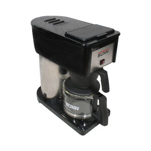 New bunn bx b bxb velocity brew 10cup home coffee brewer for Bunn velocity coffee maker