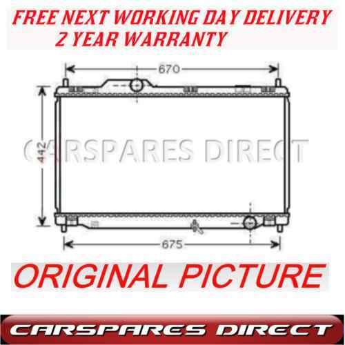 LEXUS IS 250     2.5 24V VVTi 2005-on   NEW RADIATOR