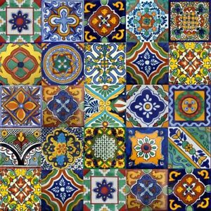 120-Mexican-6x6-ceramic-talavera-tiles-stair-risers