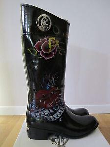 Christian-Audigier-Ed-Hardy-Rainboots-Sizes-5-10