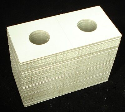 100 2x2 Penny Mylar Cardboard Coin Holder Flips - Coin Supplies on Rummage