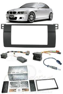Connects2 CTKBM03 BMW 3 SERIES E46 Complete Double Din Stereo Fitting Kit