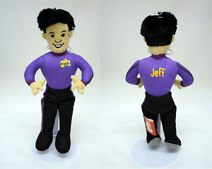 Wiggles - Jeff Doll soft toy doll brand new 12