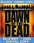 Dawn of the Dead (Blu-ray Disc, 2011, 2-Disc Set, Unrated Director's Cut; With Tech Support for Dummies Trial;)