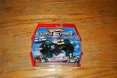 Hot Wheels Battle Force 5 Talking Zelix Car Zemerik