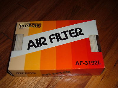 vintage PEP BOYS AIR FILTER AFP-3192L Car 1980's NEW!