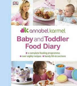 Baby And Toddler Food Diary Annabel Karmel