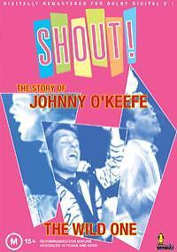 SHOUT! THE STORY OF JOHNNY O'KEEFE 2 DISCS SET
