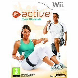 EA Sports Active: More Workouts Nintendo Wii Brand New