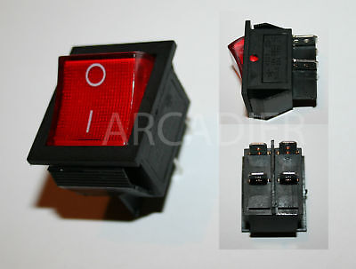 An Aus Schalter On Off Switch Arcade Mame Automat Cabinet usato  Spedire a Italy