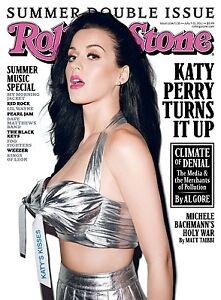 Rolling Stone Katy Perry Turns It Up & Music Jul 7 2011
