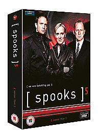 Spooks-Series-5-Complete-DVD-2007-5-Disc-Set-Box-Set