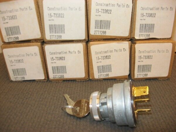Lot Of 8 - Cole Hersee Ignition Switch 958-4116 For Clark 733622