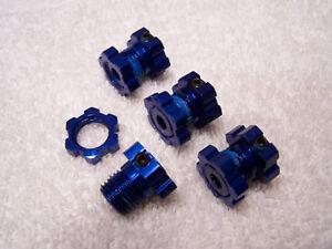 Traxxas-Summit-17mm-Splined-Wheel-Hexes-Hex-Nuts-Fits-3-3-T-maxx-Revo-E-maxx