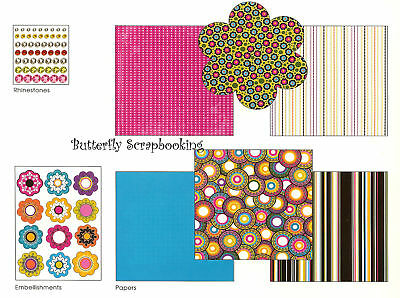 Super Cool 8x8 Scrapbooking Kit Me & My Big Ideas