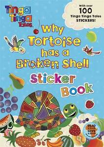 Tinga Tinga Tales: Why Tortoise has a Broken Shell Sticker Book, Tiger Aspect, N