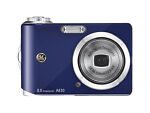 GE A830 8.0 MP Digital Camera - Blue