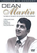 Dean Martin - Legends In Concert (DVD) - New And Sealed HAS 19 SONGS