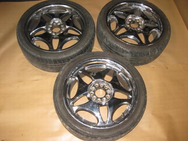 "Lexus Aftermarket 18"" Chrome Wheels Rims Universal"