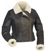 Ladies Sheepskin Flying Jacket
