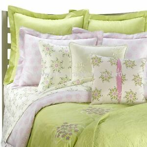Amy Butler Modena Green Pink Queen Full Duvet Cover Ebay