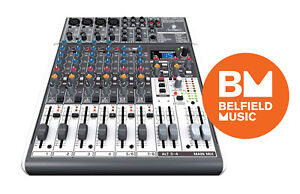 Behringer-X1204USB-1204FX-Effects-USB-12-Channel-Passive-Mixer-BNIB