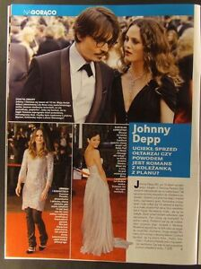 Yves Saint Laurent, Vanessa Paradis-Johnny Depp, Sarah Jessica Parker mag.2008 - europe, Polska - Zwroty są przyjmowane - europe, Polska