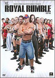Royal Rumble 2010 (Blu-ray, 2010, 2-Disc Set)