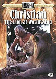 CHRISTIAN THE LION AT WORLD'S END. BORN FREE WILDLIFE. NEW ITEM
