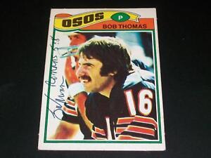Bears-Bob-Thomas-Signed-1977-Topps-Mexican-382-JSA