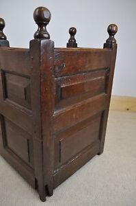 antique-18th-century-panelled-oak-cradle