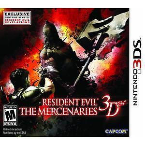 Resident Evil: The Mercenaries 3D  (Nintendo 3DS, 2011)