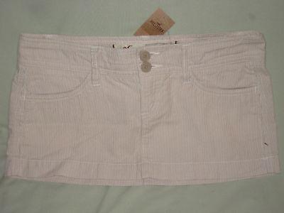 Hollister Co Khaki Pinstripe Mini Skirt Juniors 9