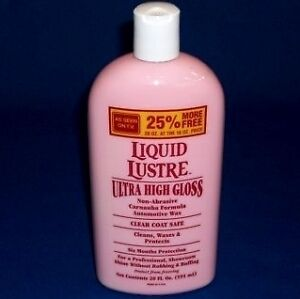 Where To Buy Liquid Lustre Car Wax