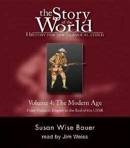 Story-of-the-World-Volume-4-Audio-CD-9-CDs-Modern-Times-Grades-1-4-NEW