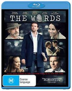 *Brand new & sealed* The Words (Blu-ray movie, 2013) Bradley Cooper