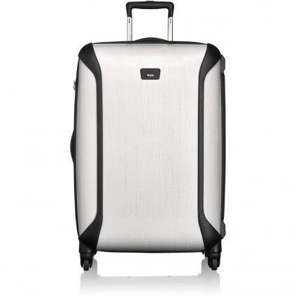 Macht was her und passt was rein: erweiterbare Reisekoffer aus Aluminium