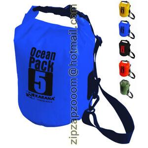 Karana-Ocean-Dry-Pack-Waterproof-Kayak-Travel-Shoulder-Rucksack-Bag-5L-5-Litre