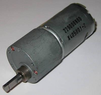 30 Rpm Heavy Duty Gearhead Motor - 12v Dc - 3.5 Long - .25 Shaft Diameter