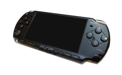 Sony PSP 2001 Slim Launch Edition Black Handheld System