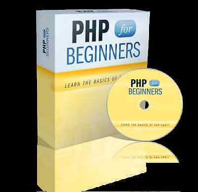 Php For Beginners Video Tutorials On Cd