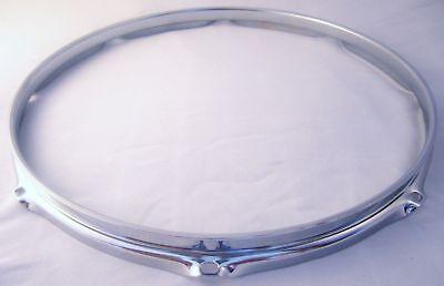 "Triple flange 2.3mm drum hoop 13"" 8 lug chrome finish"