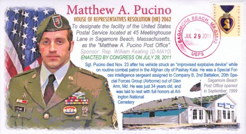 COVERSCAPE computer designed Sgt. Matthew Pucino cover