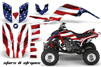 Amr Racing Atv Quad Graphic Sticker Kit Yamaha Raptor 660 Part Free Us Shipping