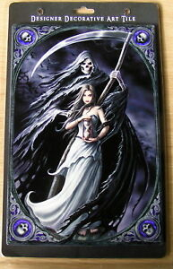 NEMISIS NOW SUMMON THE REAPER,ART TILE.ANN STOKES BNIB