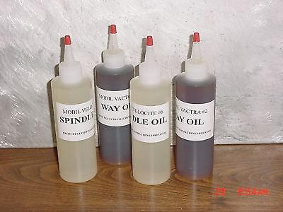 2 Pints South Bend Leblond Atlas Logan Mobil Lathe Oil